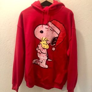 Tops - Snoopy Red Hoodie NEW